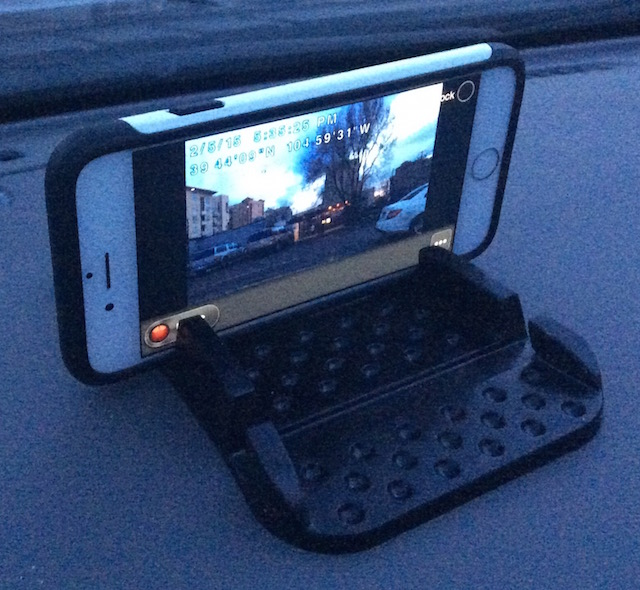 Simple iPhone Dash Cam